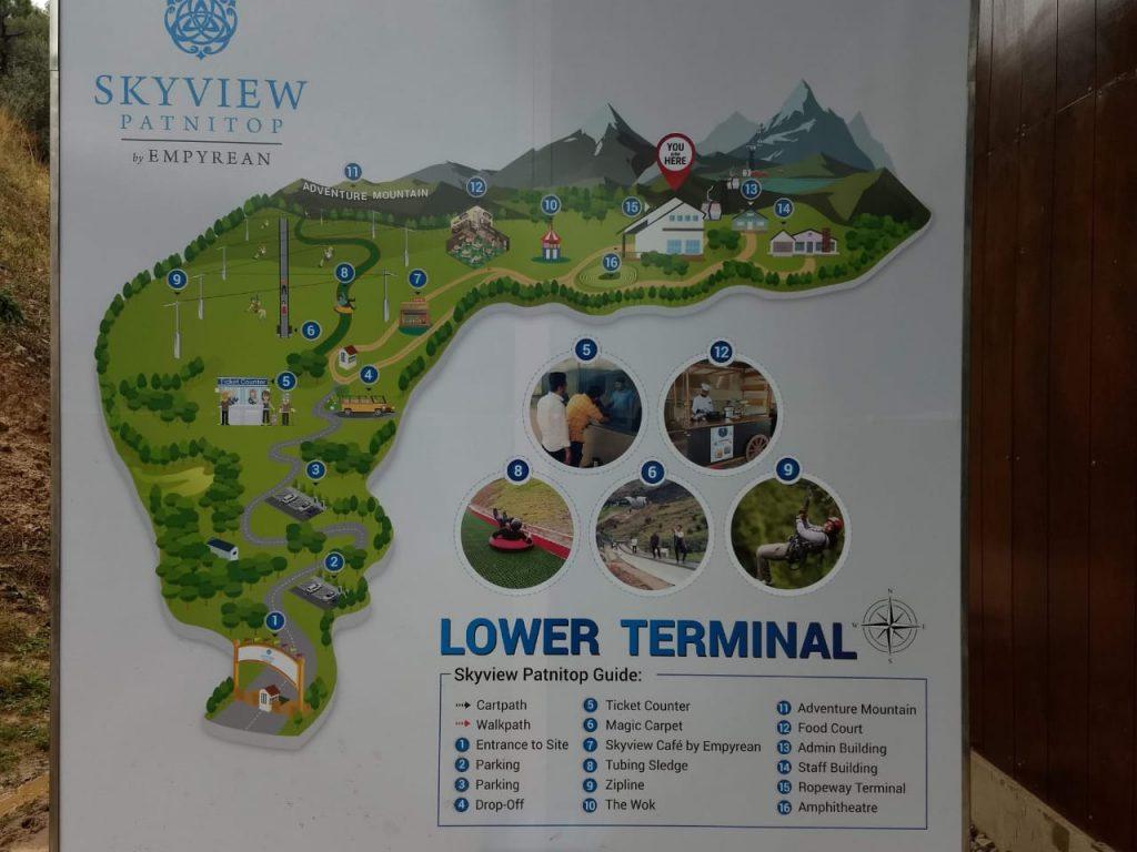 Skyview Patnitop roapway_ Lower Terminal